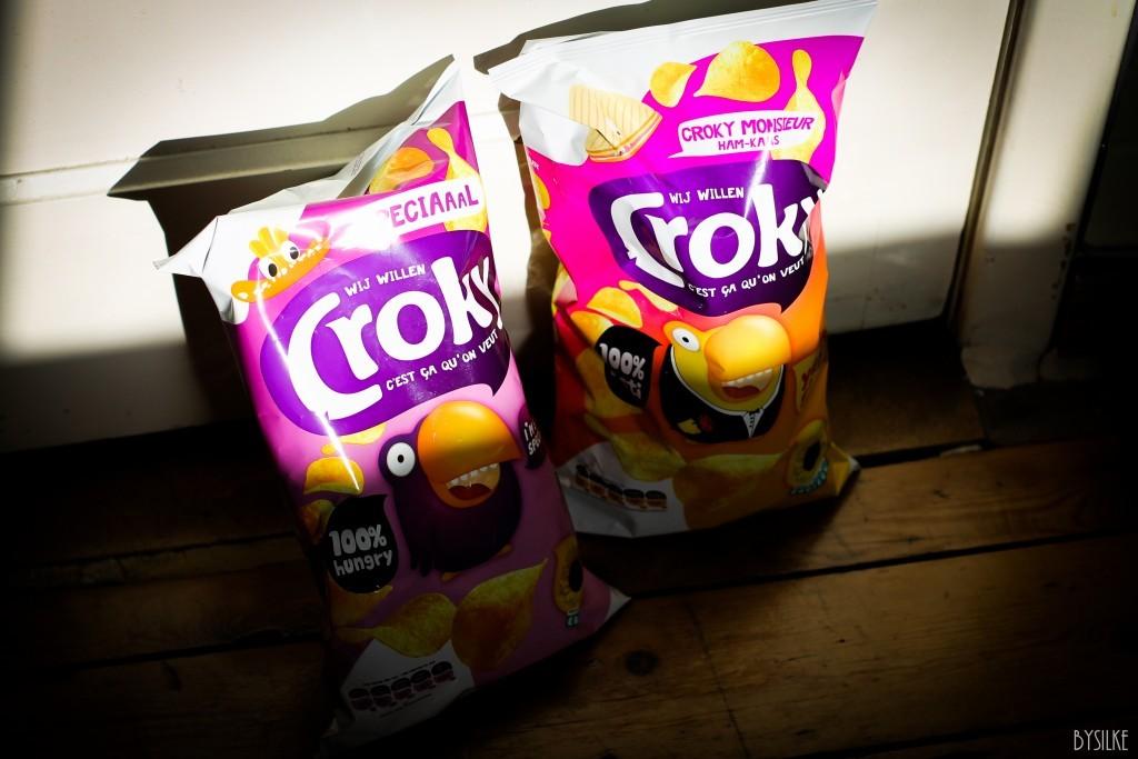 Chipsliefde: nieuwe smaken van Croky.