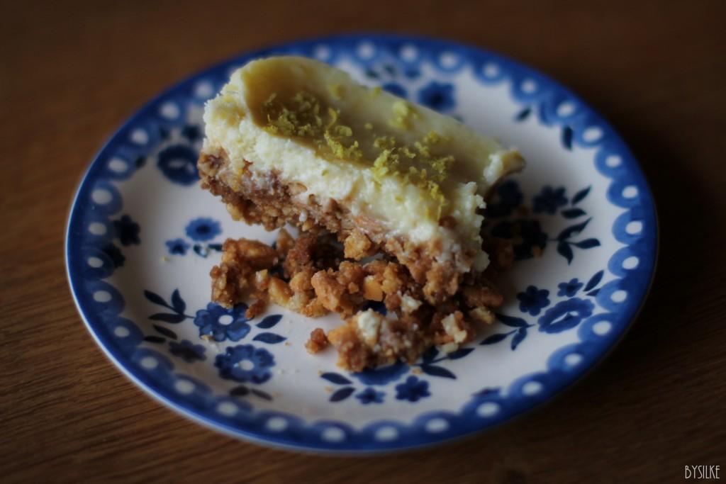 Recept  |  Krokante citroentaart