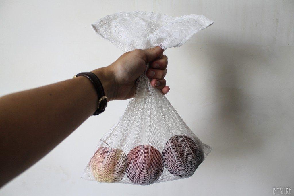 herbruikbare zakjes supermarkt