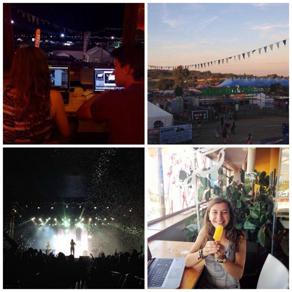Lichtpuntjes #113    Laatste likjes verf   & festival Dranouter