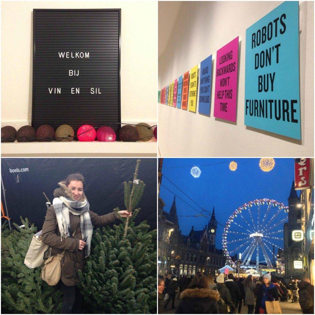 Ikea kerstboom Gent
