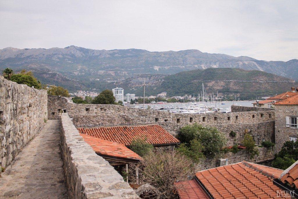 Wandelen in Budva Montenegro