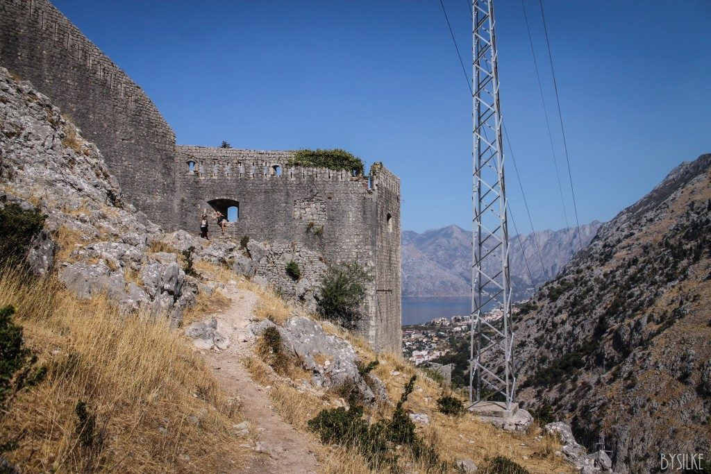 Kotor city non tourist