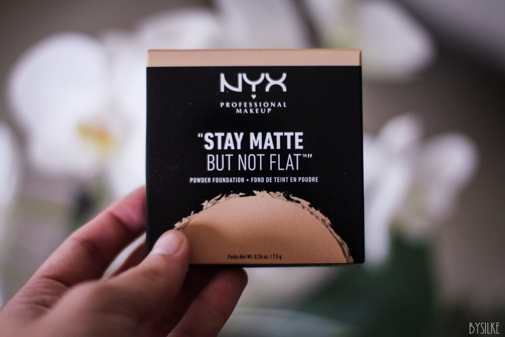 Stay Matte but not flat powder