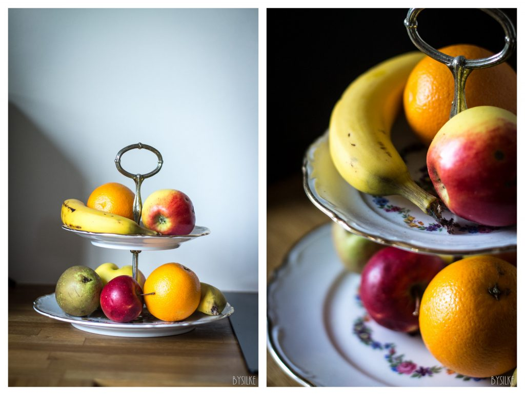 Fruitschaal compositie